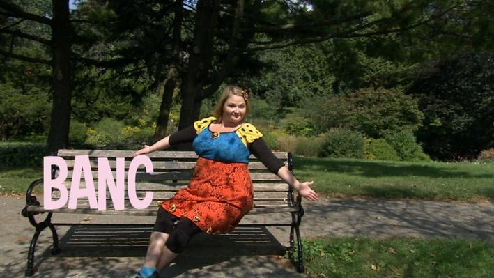 Banc | Lecture de mots au parc