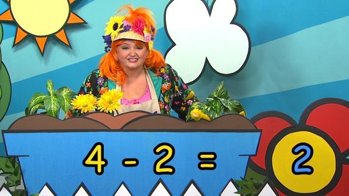 Quatre moins deux | Combien de fleurs Fleurette?