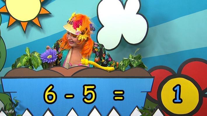 Six moins cinq | Combien de fleurs Fleurette?
