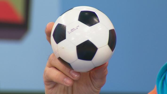 Zidane, le ballon de soccer | Histoires
