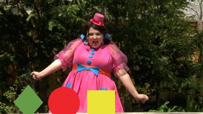 Losange, cercle, carré | Miss Topé fait des suites