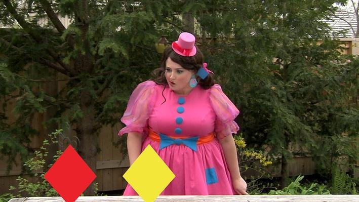 Losange, couleur | Miss Topé fait des suites