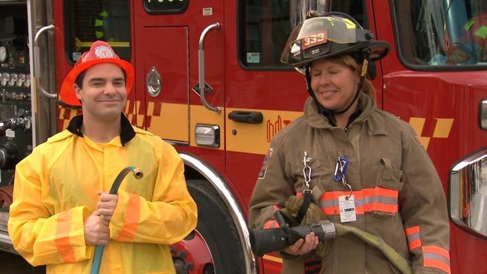 Pompier |  Les métiers