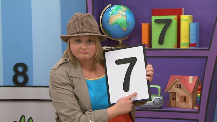 Le chiffre 7 | Trouve l'objet