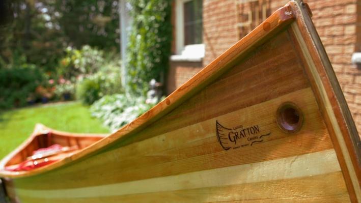 Canoe maker Gilles Gratton |  Découvertes