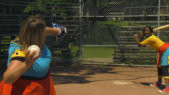 Baseball | Statues au parc