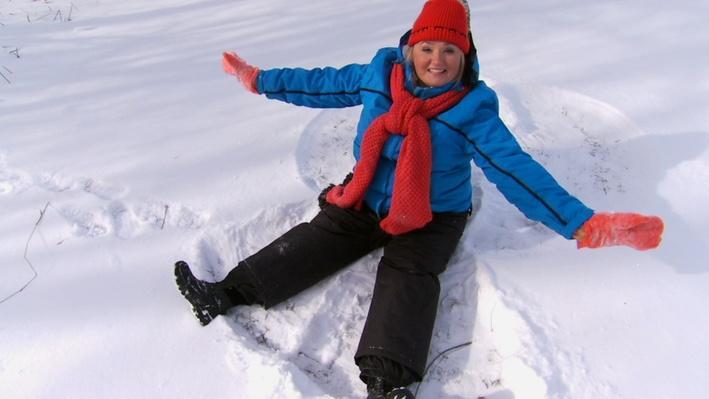 C'est l'hiver : L'ange | Les saisons de Mini