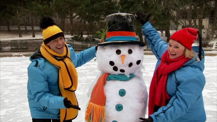 C'est l'hiver : Le bonhomme de neige | Les saisons de Mini