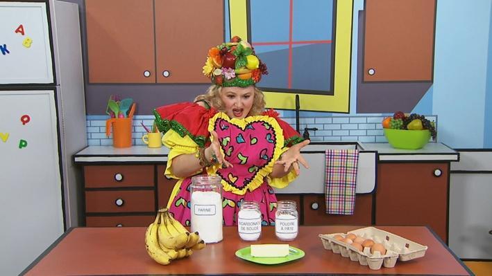 Ingrédients | Mme Fruitée fait un gâteau