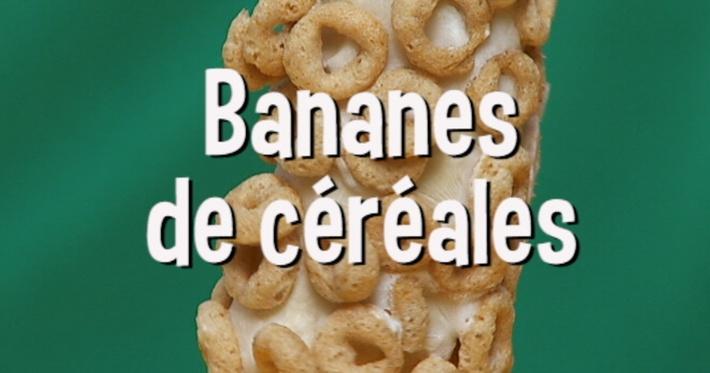 Bananes de céréales | Mini Miam