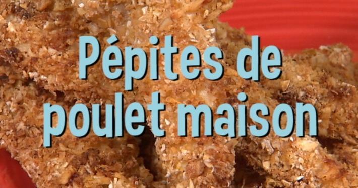 Pépites de poulet maison | Mini Miam