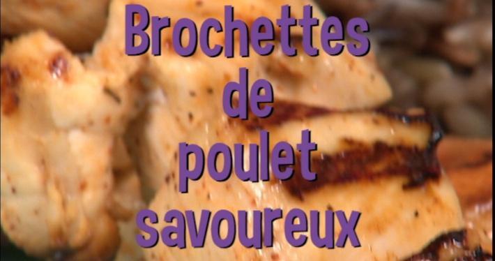 Brochettes de poulet savoureux | Mini Miam