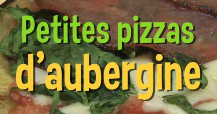 Petites pizzas d'aubergine | Mini Miam