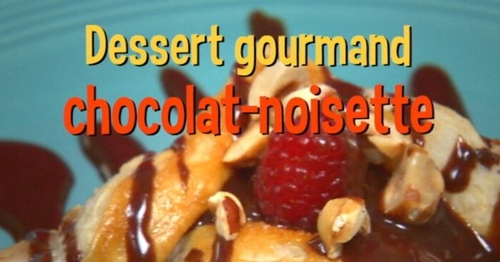 Dessert gourmand chocolat-noisette | Mini Miam