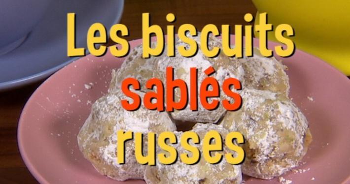 Les biscuits sablés russes | Mini Miam