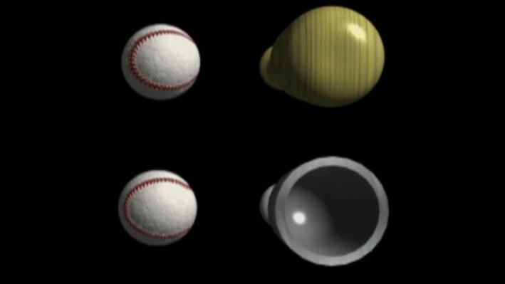 Scientific American Frontiers: On the Ball   Regulating Aluminum Bats