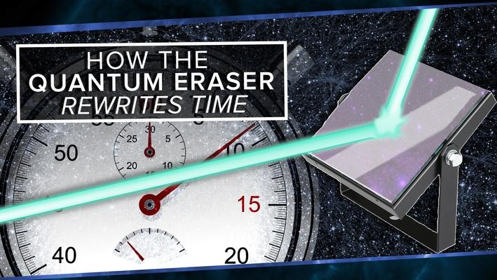 How the Quantum Eraser Rewrites the Past | PBS Space Time