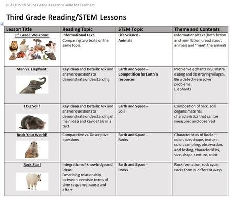 Grade 3 Reading | Teacher Lesson Guides