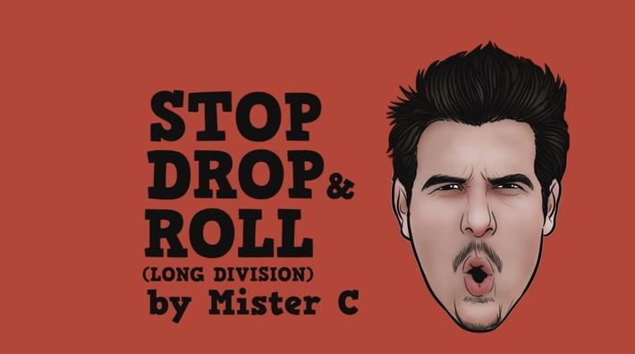 STOP Drop and Roll: Long Division | Mr. C: Math and Science