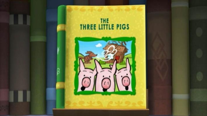 Super Why: The Three Little Pigs | Blow Your House Down