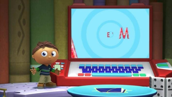 Super Why: The Boy Who Cried Wolf | Baby's First Word