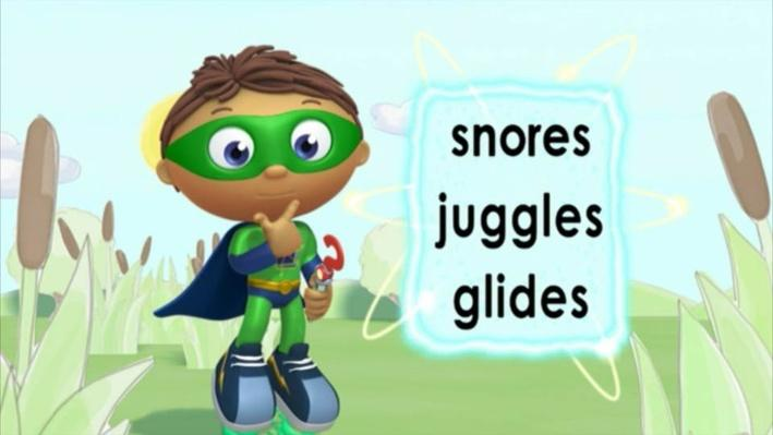 Super Why: The Ugly Duckling | Swim!