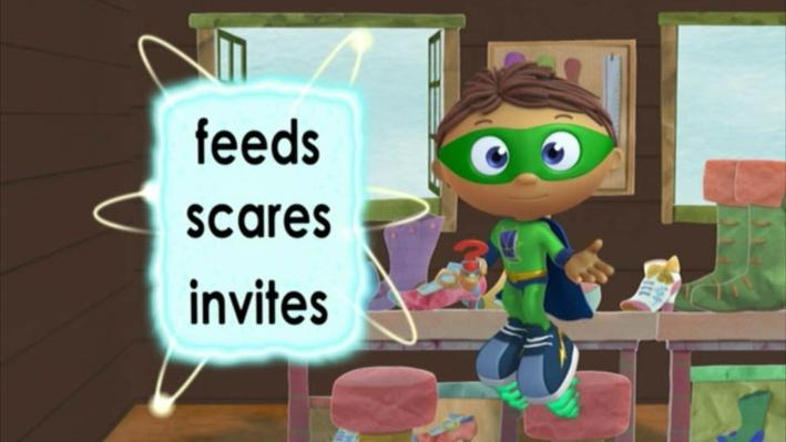 Super Why: The Elves and the Shoemaker | New Friends