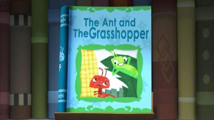 Super Why: The Ant and the Grasshopper | I'm Hungry