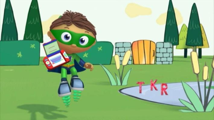 Super Why: The Frog Prince | Stuck