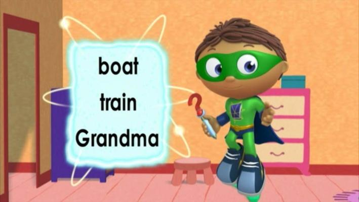 Super Why!: Little Red Riding Hood   The Wolf
