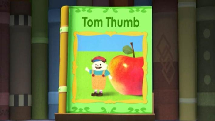 Super Why: Tom Thumb | Too Small