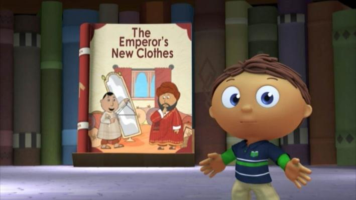 Super Why: The Emperor's New Clothes | Invisible Clothes