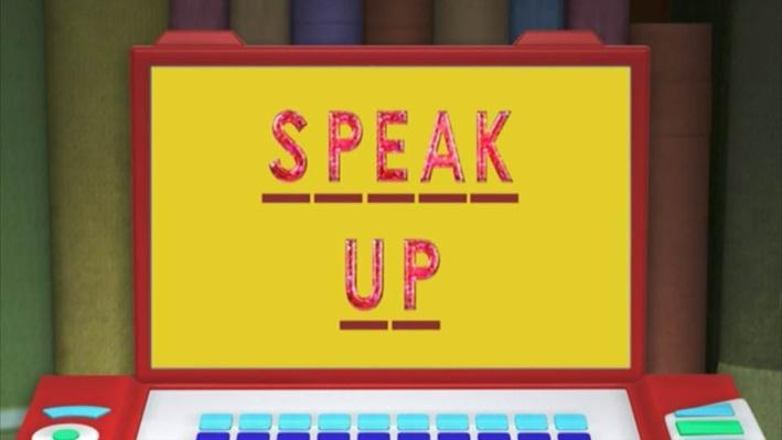 Super Why: The Emperor's New Clothes | Speak Up