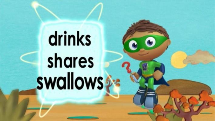 Super Why: Tiddalick the Frog | Water for Everyone