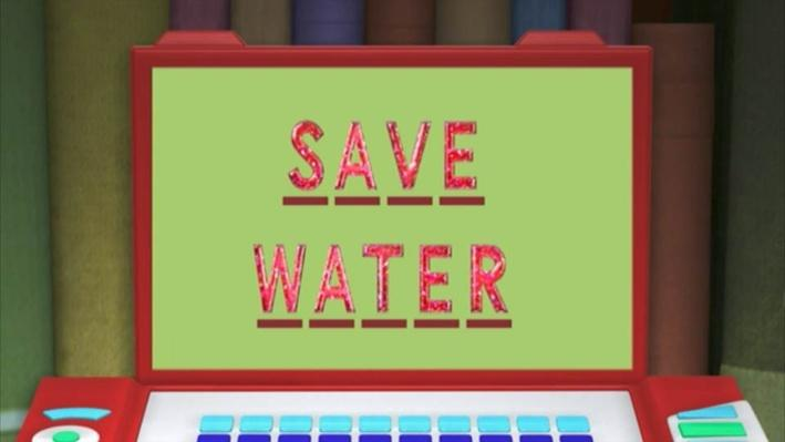 Super Why: Tiddalick the Frog | Save Water