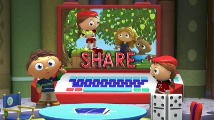 Super Why: The Goose and the Golden Eggs   Share