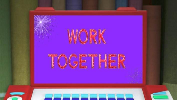 Super Why: Momotaro: The Peach Boy | Work Together