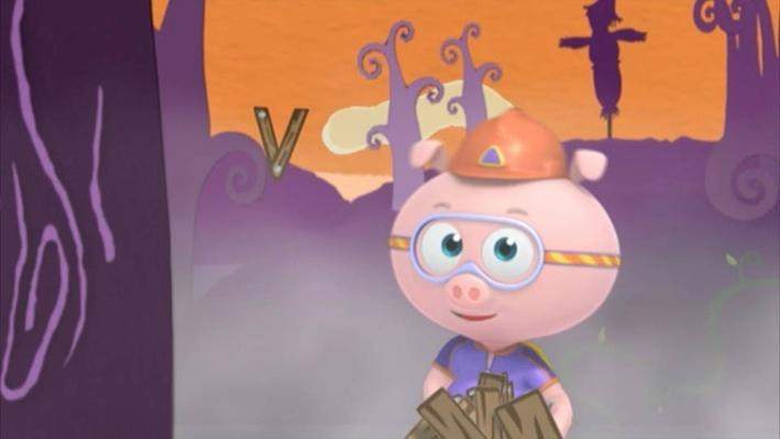 Pig Pumpkin Super Why Preschool Video Pbs