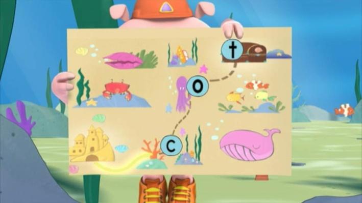 Super Why: The Little Mermaid | Treasure Map