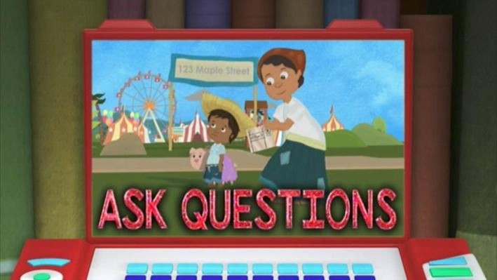 Super Why: Juan Bobo and the Pig | Ask Questions