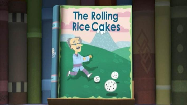 Super Why!: The Rolling Rice Cakes | Rice Cakes for Mice