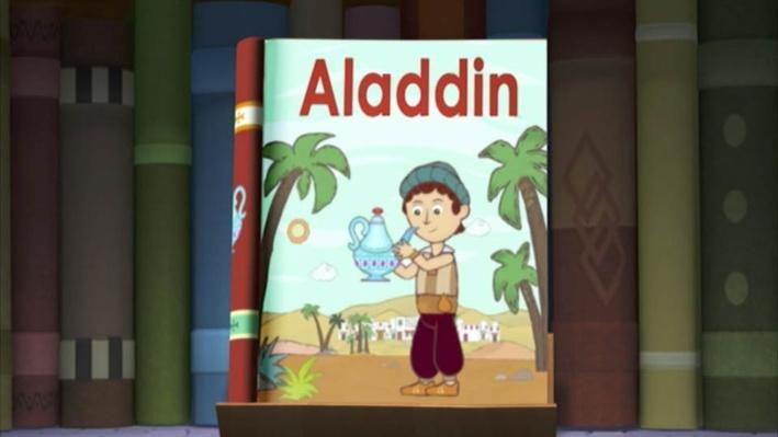 Super Why: Aladdin | Genie in the Lamp
