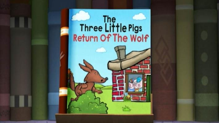 Super Why: The Three Little Pigs: Return of the Wolf | Huff and Puff