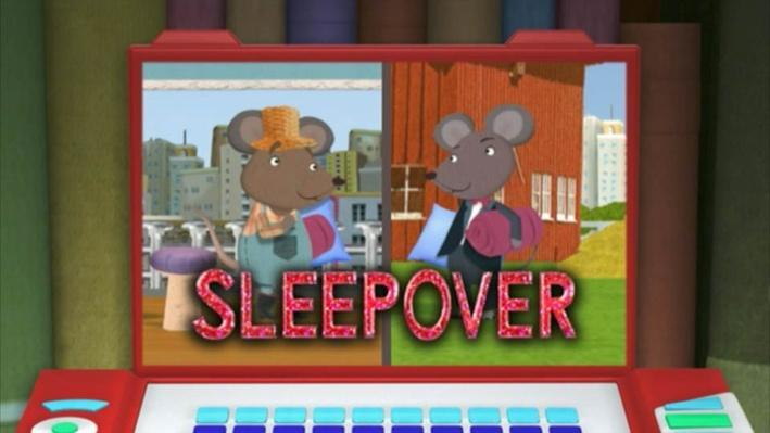 Super Why: The City Mouse and the Country Mouse | Sleepover