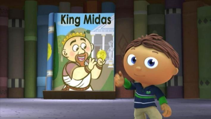 Super Why: King Midas | More Gold!
