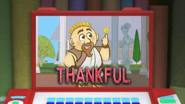 Super Why: King Midas | Thankful