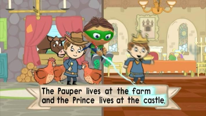 Super Why!: The Prince and the Pauper | A Nice Place to Visit