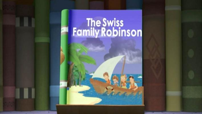 Super Why: The Swiss Family Robinson | Stranded