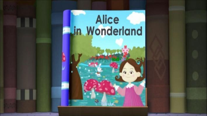 Super Why: Alice in Wonderland | The White Rabbit