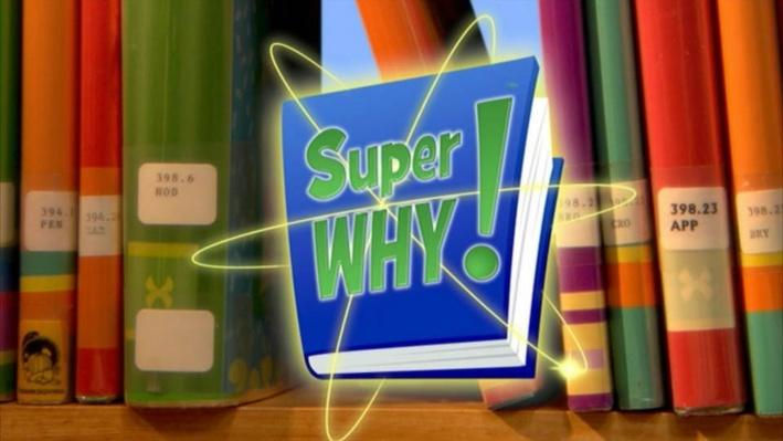 Super Why: The Story of Mother Goose